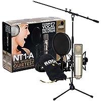 Rode NT1-A Microfono a condensatore con supporto microfono