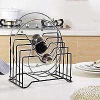 Estante organizador de cocina, estante de metal para almacenamiento, de hierro, bandeja de almacenamiento de utensilios de cocina, bandeja de almacenamiento