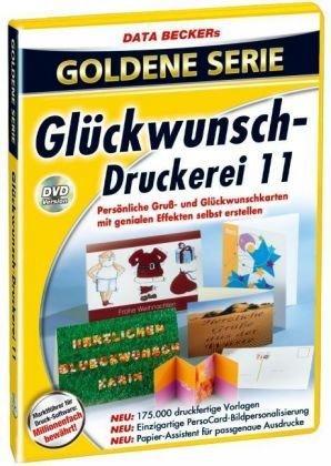 Goldene Serie Glückwunsch-Druckerei 11
