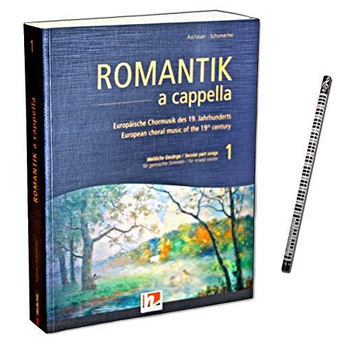 Romantik a cappella Band 1 : Weltliche Gesänge - Europäische Chormusik des 19. Jahrhunderts für gemischte Stimmen - Helbling Verlag 9783990355466