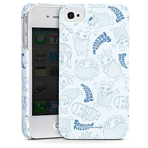 Apple iPhone X Silikon Hülle Case Schutzhülle Sorgenfresser Monster Fanartikel Merchandise Premium Case glänzend