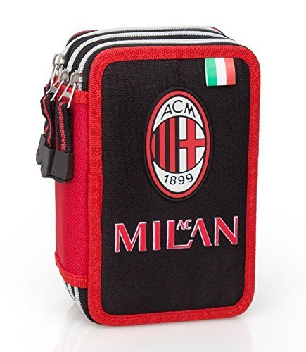 Milan ac astuccio 3 zip accessoriato giotto