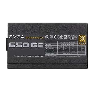 EVGA SuperNOVA GS PSU 650W, Nero
