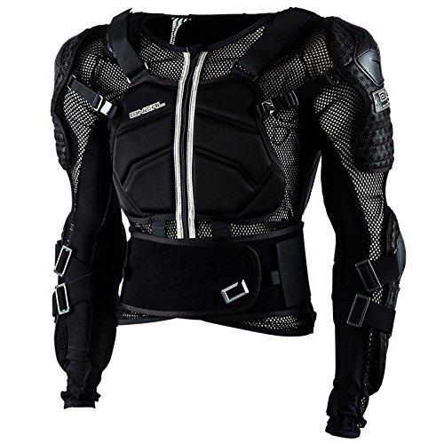 O'Neal Underdog III Kinder Protektoren Jacke Moto Cross Motorrad MX FR DH Kids Schwarz, 0571K, Größe Large