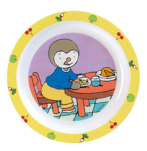 Fun House T'Choupi Assiette micro-ondable