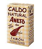 Aneto Caldo Natural de Jamón - Schinkenbrühe Ohne Zusätze, 1er Pack (1 x 1l)