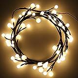 CroLED Cadena LED Luces para Decoración Navideña - Guirnalda de Luces Iluminación con Luz Decorativa para fiesta, hogar, jardín