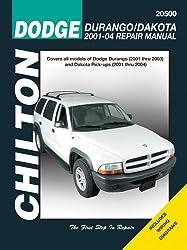 DODGE DURANGO DAKOTA PICK-UPS 01-03 USA by Chilton Book Company (COR) (2010-08-02)