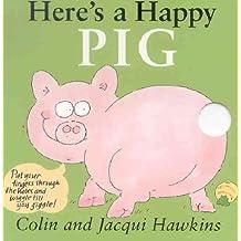 Here's a Happy Pig (Fingerwiggle Board Books)