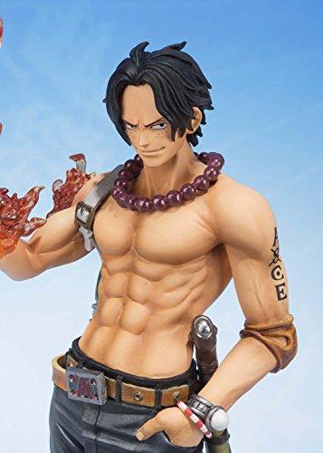 Bandai Tamashii Nations S.H.FiguartsZERO Portogas.D.Ace 5th Anniversary Edition One Piece Action Figure 3