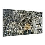 Köln Deutschland Kirche Wahrzeichen Religion Leinwand Poster Druck Bild aa3094 60x40