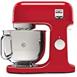Kenwood KMX750AR Küchenmaschine Küchenmaschine Küchenmaschine Küchenmaschine Mixer, 1000 W, 5 Liter, Stahl, Kunststoff…