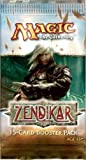 Magic the Gathering Zendikar Booster Pack 15 cards by Wizards of the Coast
