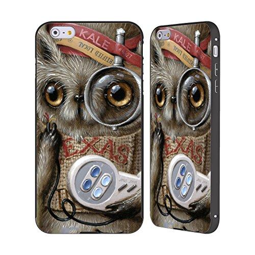 Ufficiale Jason Limon Refusuffix 01 Animali Nero Cover Contorno con Bumper in Alluminio per Apple iPhone 5 / 5s / SE Refusuffix 07