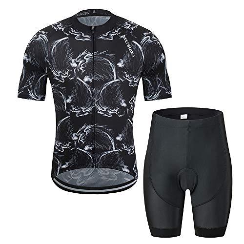 YDJGY Radfahren Tops Sommer Racing Jersey Ropa Ciclismo Kurzarm Mtb Fahrrad Jersey Shirt Maillot Ciclismo -