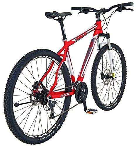 REXBike Jungen Mountainbike REX Alu-MTB Twentyniner 29 Zoll Bergsteiger 6.5, rot, 50, 51486-3111