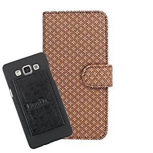 DooDa PU Leather Wallet Flip Case Cover With Card & ID Slots For Karbonn Titanium X - Back Cover Not Included Peel And Paste
