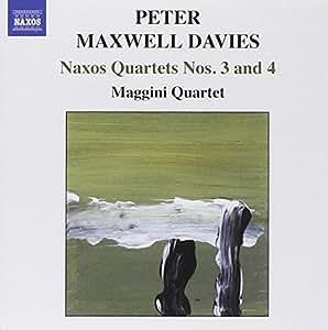 Naxos Quartette Nr. 3+4