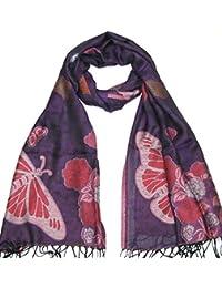Lovarzi - de mujer la bufanda / chal - hermosas bufanda de mariposa para mujer