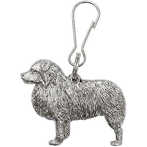 Pastor ovejero australiano Hecho en Reino Unido Artístico Perro Cremallera Colección