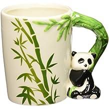 PUCKATOR - Taza, diseño de panda y bambú