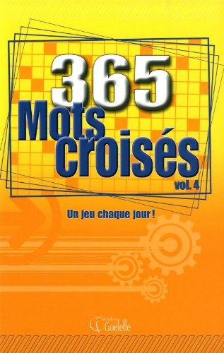 365 mots croises vol.4