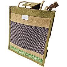 Eco Friendly Trebdt Jute Lunch Bag & shopping Bag - Popular Attractive Light Green Colour