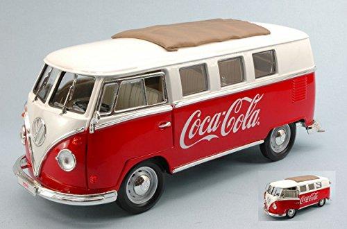 MOTORCITY CLASSICS MCC397471 VW MINIBUS T1 1962 COCA COLA 1:18 DIE CAST MODEL