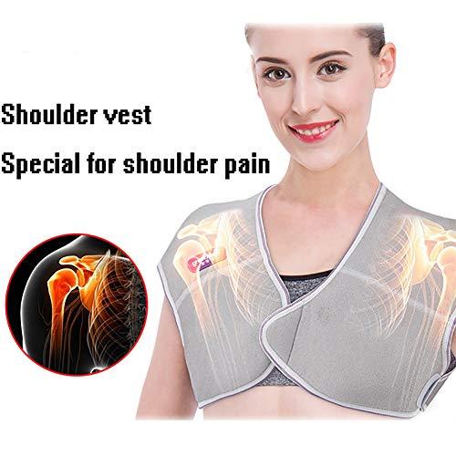 QIYU Heizkissen Nacken Schulter und Rücken, Nacken und Schulter Wärmekissen, Heizdecke für Rücken, lindert Schmerzen im Nacken und Rücken,M