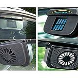 NBCVFUINJ® salida de aire del coche accionado solar del ventilador de refrigeración , ethiopia-europe