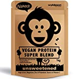 Best Protein Sources - Naked Vegan Protein Blend | Unsweetened | No Review