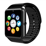 CXYP Touch-Screen Bluetooth Smart-Uhr mit Kamera-SIM-Karte / TF-Kartensteckplatz, NFC, Musik-Player, Anruf / SMS / Twiter / Facebook Bluetooth Push, Fitness Armbanduhr für iPhone Samsung Huawei Android-Handys