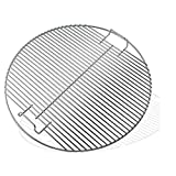 "GFTIME 44.45CM Replacement Cooking Grid Grates for Weber 7432 Kettle Grill Heavy Duty Fit 18.5"" / 47CM One-Touch Weber charcoal grills, Bar-B-Kettle charcoal, Smokey Mountain Cooker smoker Gas Grill"