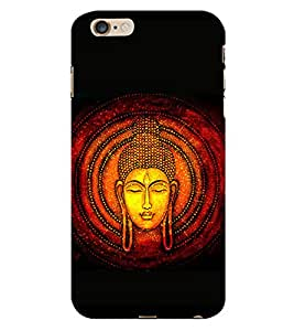 99Sublimation Lord Budhdha 3D Hard Polycarbonate Back Case Cover for Apple iPhone 6