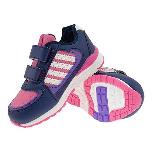 GALLUX - Kinder Sneaker tolle bunte Schuhe Lila