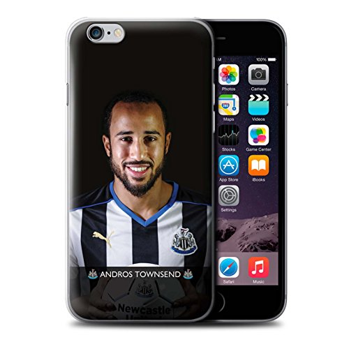 Offiziell Newcastle United FC Hülle / Case für Apple iPhone 6+/Plus 5.5 / Pack 25pcs Muster / NUFC Fussballspieler 15/16 Kollektion Townsend