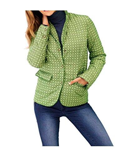 Heine - Blouson - Veste damassée - Femme vert vert Vert