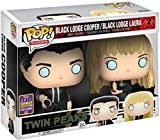 Funko 13184-Twin Peaks Pop Vinyl Figure Cooper & Laura Palmer 2Pack SDCC Summer Convention Exclusives