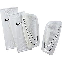 Nike Mercurial Lite Espinilleras, Unisex Adulto, Negro, Blanco (Black/White), M