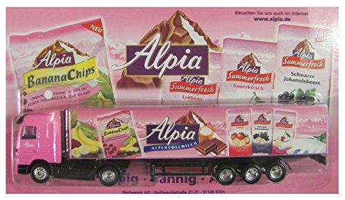 Alpia Schokolade Nr.02 - Alpenvollmilch - MB Actros - Sattelzug