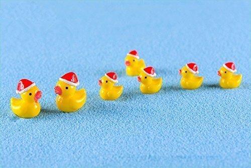 hnachts Ente Miniatur Puppen Haus Garten Bonsai Dekoration Mini Puppenhaus Spielzeug Handwerk Ornamente Micro Decor DIY Geschenk (Baby Daffy Duck)