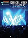 Clarinet Easy Instrumental Play-Along: Classic Rock. Partitions, Downloads pour Clarinette