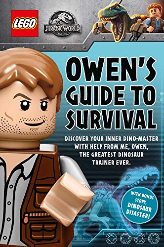 LEGO Jurassic World: Owen's Guide to Survival plus Dinosaur Disaster!