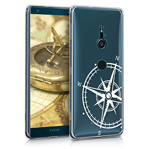 kwmobile Sony Xperia XZ3 Hülle - Handyhülle für Sony Xperia XZ3 - Handy Case in Weiß Transparent