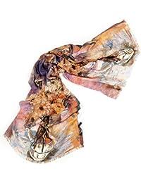 Schal ART Naturtöne 180 x 70 cm - (W-450-02)<br />