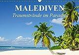 Malediven - Traumstrände im Paradies (Wandkalender 2017 DIN A3 quer): Die traumhafte Inselwelt der Malediven für Erholungssuchende und Taucher (Monatskalender, 14 Seiten ) (CALVENDO Orte)
