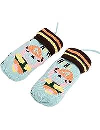 b8d2ac129474f Ashdown Unisex niños regalos de Navidad de punto de lana de invierno guantes  manoplas para bebé