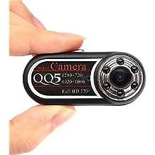 Mengshen 720P 1080P cámara de vídeo HD Mini espía ocultos cámara pulgar 170 grados IR Night Vision + Motion detección DVR MS-QQ5