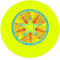 Discraft 802001-106 - Ultrastar Sport Disc, 175 G, Fluorescent Yellow