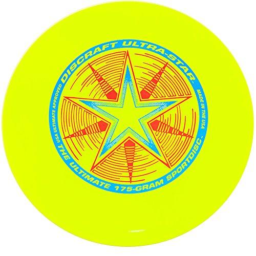 Discraft 802001-106 - Ultrastar Sport Disc, 175 g, fluorescent yellow